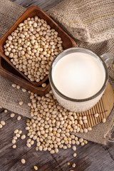 an important part of a healthy food, soy and soy milk