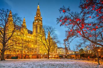 Keuken foto achterwand Wenen Vienna town hall