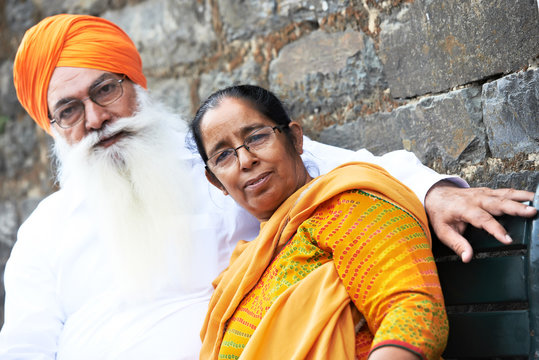 adult indian sikh man