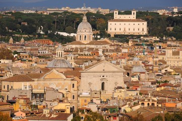 Panoramica Roma Gianicolo