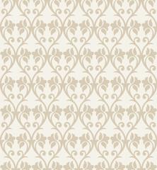 Seamless fancy flower wallpaper