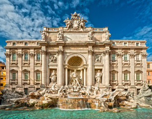 In de dag Rome The Famous Trevi Fountain , rome, Italy.
