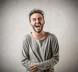 Enjoying Laughing