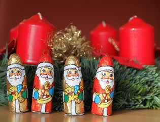 Süße Grüße zum Advent
