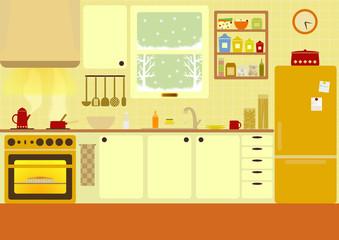 Kitchen  (Winter)