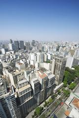 Sao Paulo Brazil Cityscape Skyline Vertical