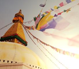 Photo sur Aluminium Népal Stupa in Nepal