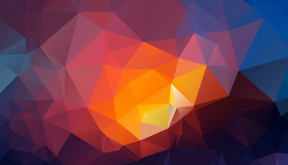 Bright abstract geometric background vector eps 10