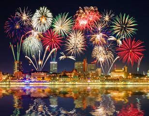 Hamburger Feuerwerk