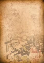 Old Menu background Vintage paper for any design