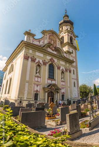 Gotzens Austria  city pictures gallery : Saint Peter and Paul in Gotzens, Austria.