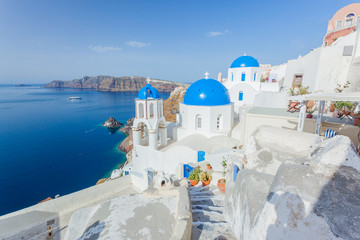 Fototapete - Santorini, Greece