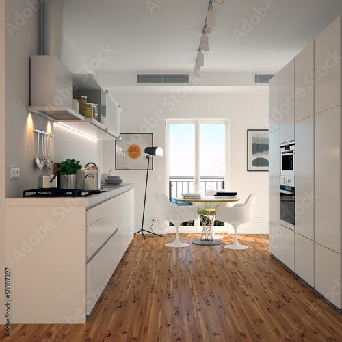 """Bild Moderne Küche: Modern Kitchen"""" Stockfotos Und"""