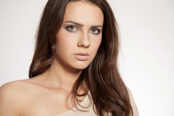 portrait beautiful brunette