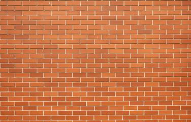 Modern red brick wall