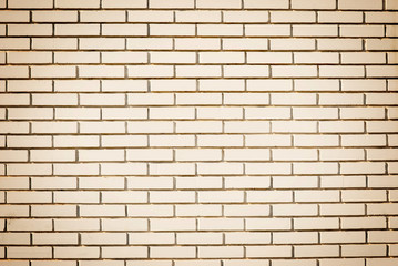 Blank wall made of bricks. Place for text