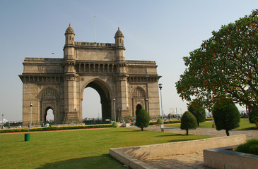 Fototapeta premium Atrakcje Bombaju