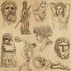 Native and old art around the World (set no.10)