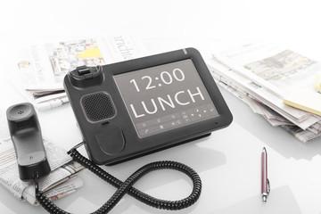 Mittagspause im Büro