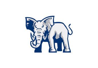 elephant sport mascot