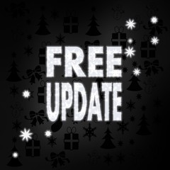 noble free update symbol with stars