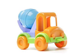 toy concrete mixer