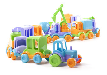 toy train of trucks