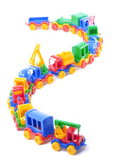 toy train of trucks
