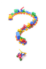 question of toy train trucks