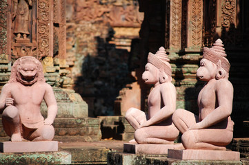Banteay Srei major temple at Angkor Wat