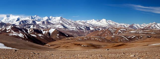 Fototapeta Himalaya Mountain landscape in Ngari Prefecture, Tibet obraz