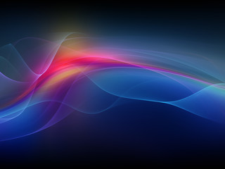 Fractal Waves Background