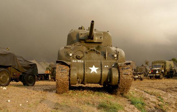 world war two sherman tank