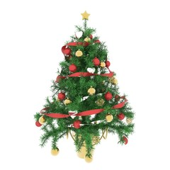 Christmas tree atmosphere