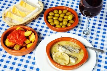 Spanish tapas selection © Arena Photo UK