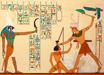 Pharaonic Art/Ancient Egyptians hieroglyphic carving & paintings