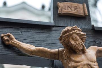 Kreuzigung Jesus. Karfreitag und Ostern