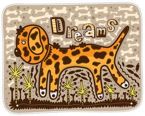 Dream of a puppy