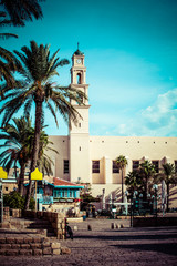St.Peter's Church is a Franciscan Church,Jaffa,Tel Aviv,Israel