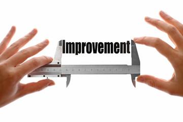 Measuring improvement