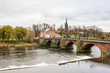 Old Dee Bridge, Chester Fotomurales