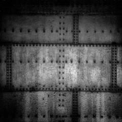 Grunge metal wall