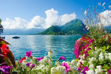 Landschaft Annecy See
