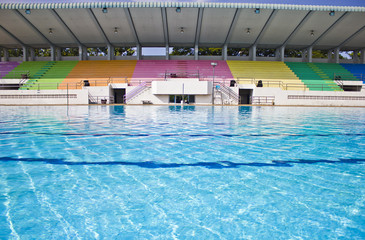 Competition pool.