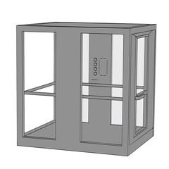 cartoon image of elevator