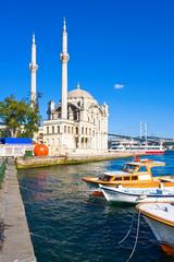 Canvas Prints Turkey Ortakoy Mosque
