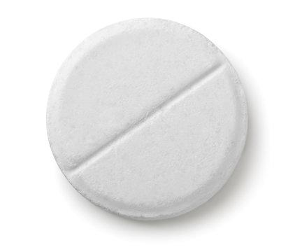 Single white pill
