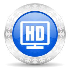 hd display christmas icon