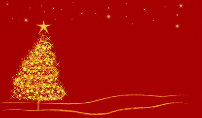gold christmas backround
