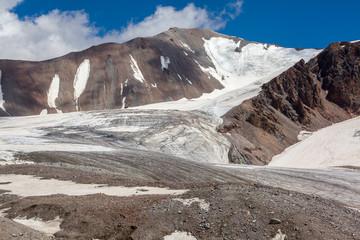 Wall Mural - Mountain landscape of glacier. Tien Shan